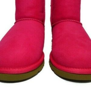 6599ff645d7 3280Y UGGS Bailey Bow Boots (Cerise Pink) Big Kids Boutique
